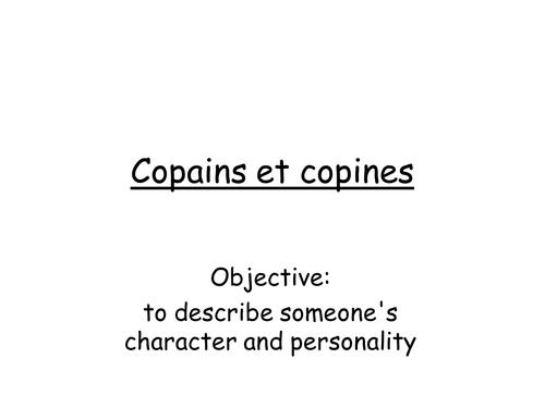 Copains et Copines