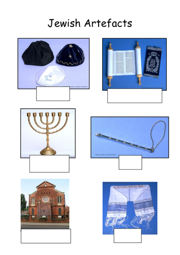 Judaism Symbols By Jodip Teaching Resources Tes