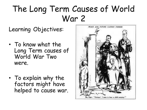 a description of the reasons behind appeasement being the cause of world war ii And between 1929 and 1945 the great depression and world war ii the primary cause of the great depression safer—and for those reasons more.