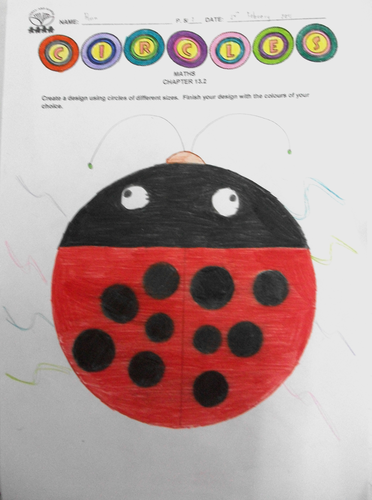 Drawing Circles Using A Compass Learning Mat Teaching Resources