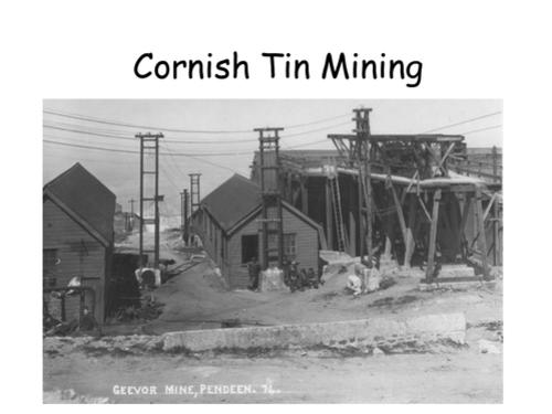 Cornish Tin Mining Lesson
