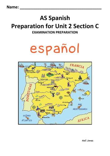 EdExcel AS Spanish Unit 2 Section C support
