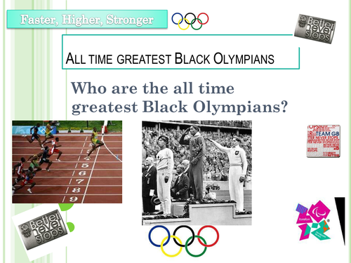 All time greatest Black Olympians