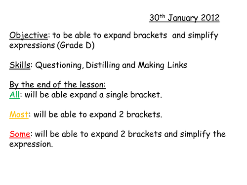 Factorising Linear Expressions Worksheet by floppityboppit – Factoring Algebraic Expressions Worksheet