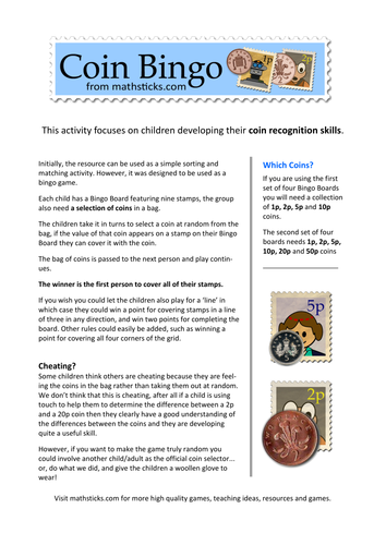 Coin Values - Coin Recognition by Johdu | Teaching Resources
