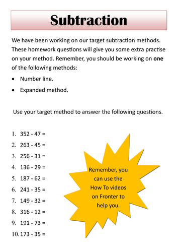 Homework help for year 4