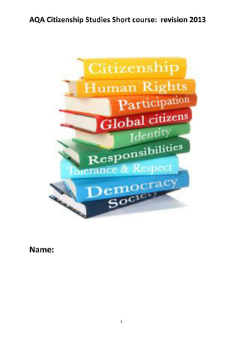 Citizenship coursework help