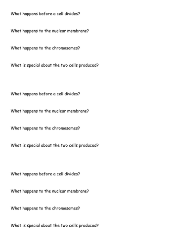 Mitosis and Meiosis by robertpur - Teaching Resources - Tes