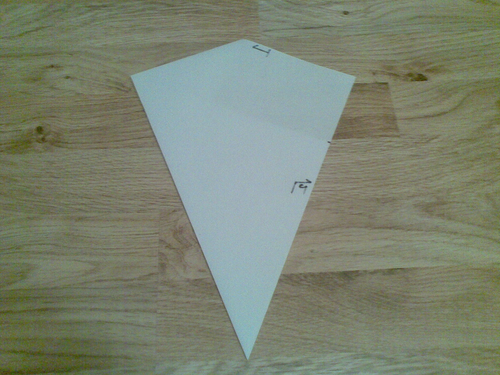Using Surds to prove an Origami Kite