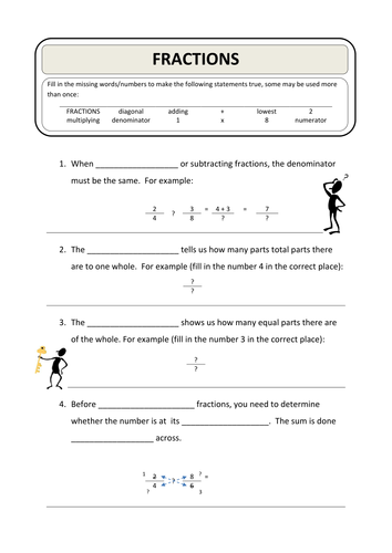 fractions starter plenary by smudge78 teaching resources tes. Black Bedroom Furniture Sets. Home Design Ideas