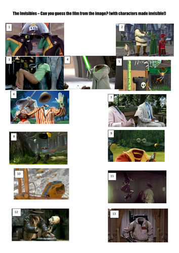 Ultimate Picture Quiz collection part 1 by gdiz07 | Teaching
