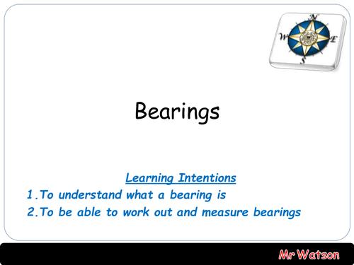 Bearing Lesson 3 Parts - Interactive