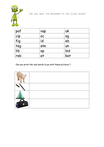 Phonics by kbewell - Teaching Resources - Tes