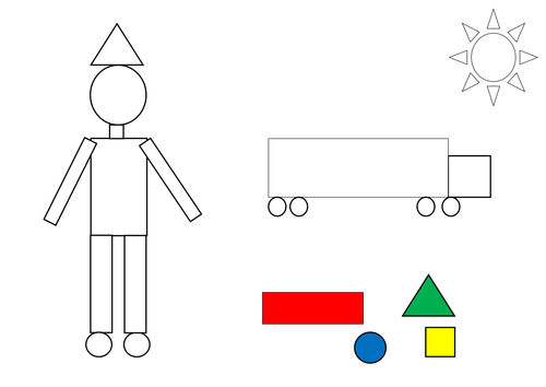 colouring a 2d shape picture by lcdixon88 teaching resources tes