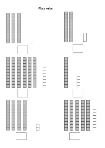 place value worksheet by lcdixon88 teaching resources. Black Bedroom Furniture Sets. Home Design Ideas
