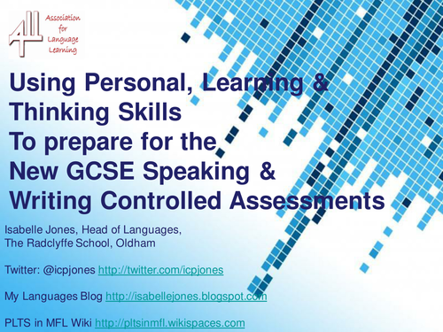 Tools and ideas to boost Speaking & Writing at KS4