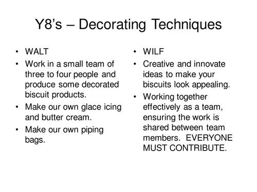 Biscuit Decorating Techniques