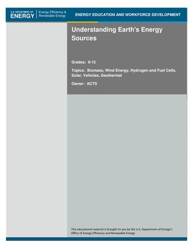 Understanding Earth's Energy Sources