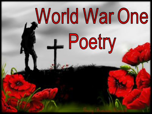 World War One Poetry
