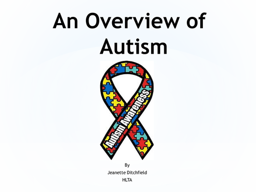 An overview of autism