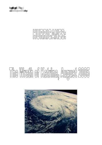 hurricane workbook
