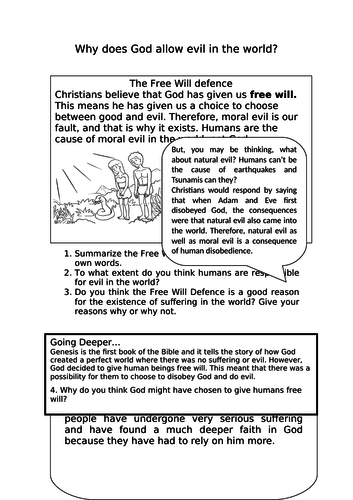 Theodicy: 3 Christian views on suffering