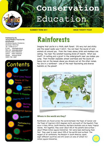 Earth Day - inspiration guides