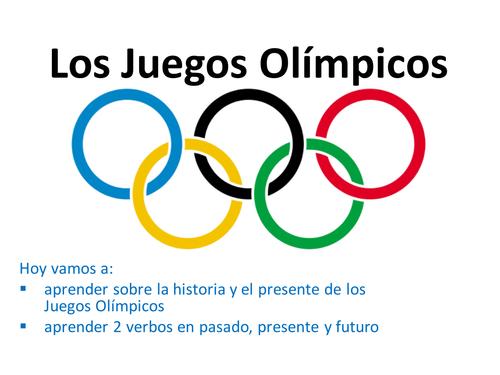 Los Juegos Olimpicos 1a By Rhawkes Teaching Resources Tes