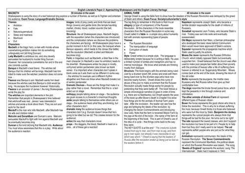 pdf summary of animal farm