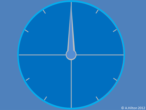 Countdown style timer