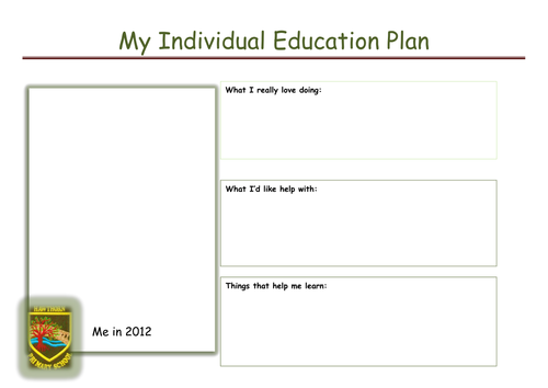 lesson plan template qld - pupil friendly iep by marmishaw teaching resources tes