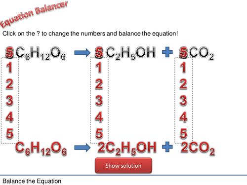 Chemistry Equation Balancer