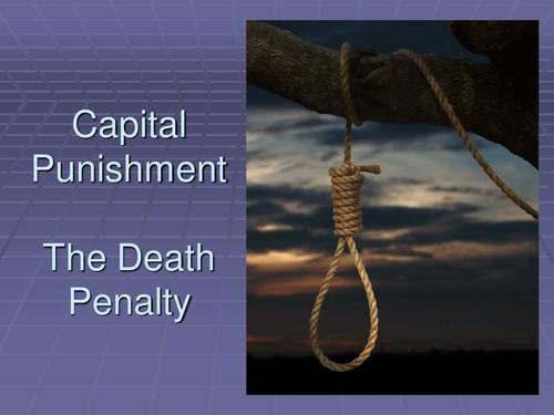 captial punishment persuaive essays