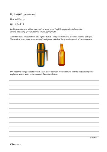 Vacuum flask extended answer question by doctord teaching vacuum flask extended answer question by doctord teaching resources tes ccuart Images