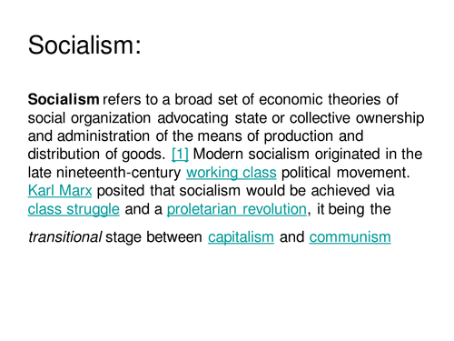 "state capitalism essay In common usage ""capitalism"" refers to corporate state capitalism, large monopoly businesses, in working alliances with the state a second distinct level, under monopoly capitalism, is the ""market economy,"" small or medium-sized business which avoids state subsidies and thrives on competition and innovation."