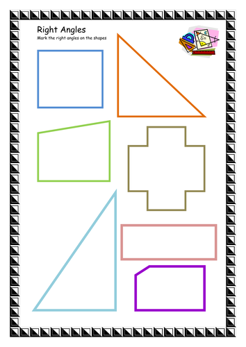 What Are Right Angles : Right angles by lbrowne teaching resources tes