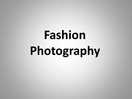 Fashion Photography - Studio & Camera set-up