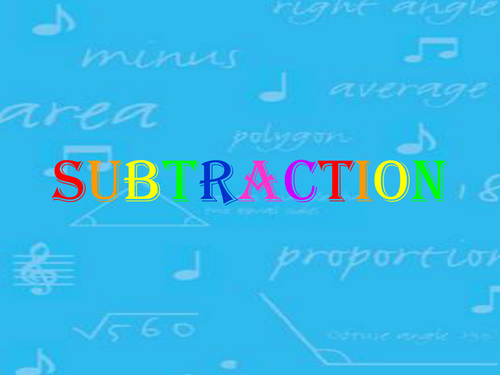 Subtraction - exchanging by cathgildart - Teaching Resources - Tes