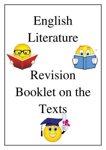 WJEC English Literature GCSE Exam... Help?