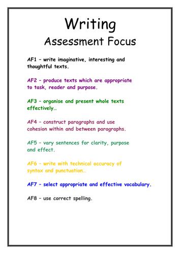 How to write an application essay ks3