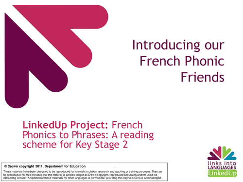 french phonics to phrases reading scheme for ks2 by linksintolanguages teaching resources. Black Bedroom Furniture Sets. Home Design Ideas