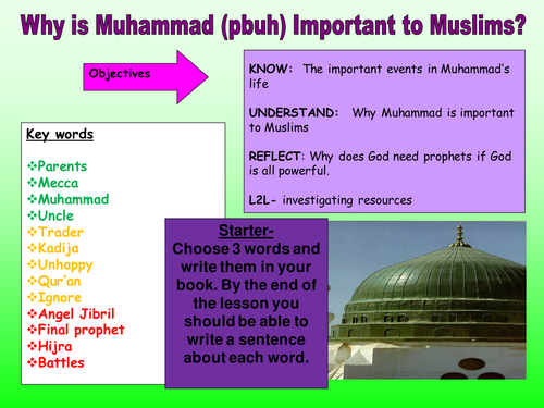 why is muhammad important to muslims