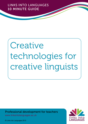 10 minute guide to creative technologies