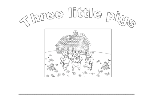 Retell the story of the 3 little pigs by rubyjoe
