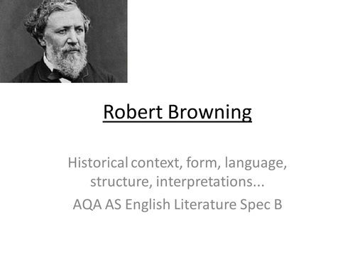 research task robert browning and context essay When it comes to essay writing, an in-depth research is a big deal our experienced writers are professional in many fields of knowledge so that they can assist you with virtually any academic task.