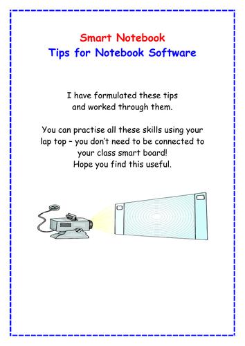 Smart Notebook basic tips for teachers