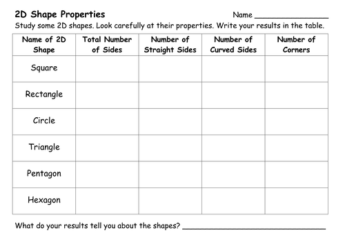 3D shape worksheets by amyloupin Teaching Resources Tes – Shape Worksheets