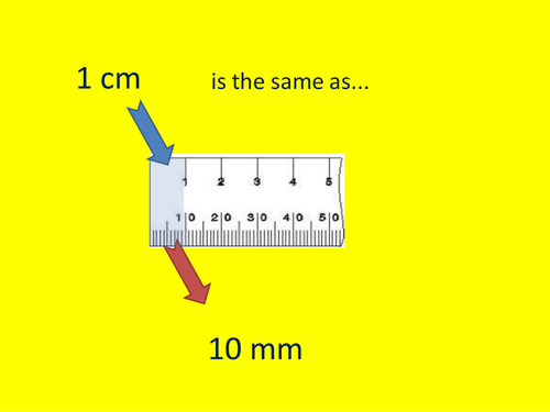 Y3 - mm, cm, m, km