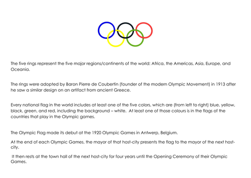 Olympic Continents