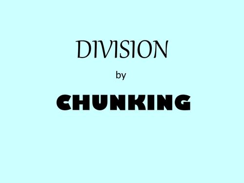 Chunking division